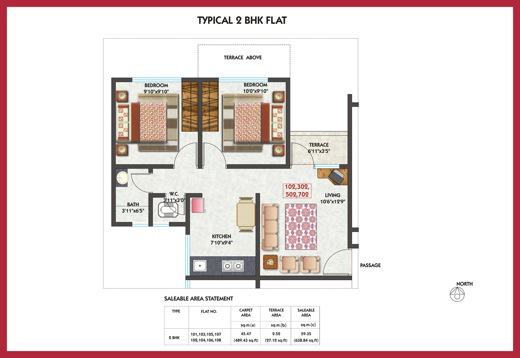 2 Amp 3 Bhk Luxurious Flats For Sale In Chakan Pune